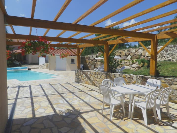 """B&B in Countryside + Private Pool => """"Le Panorama"""""""