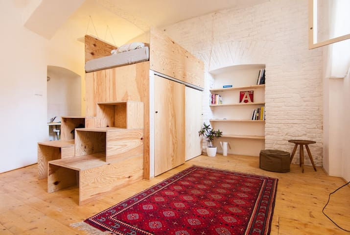 Basement studio in the very centre - Bratislava - Daire