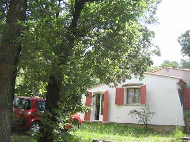 Maison dans un terrain de 4 hectars - Sainte-Anastasie-sur-Issole - House