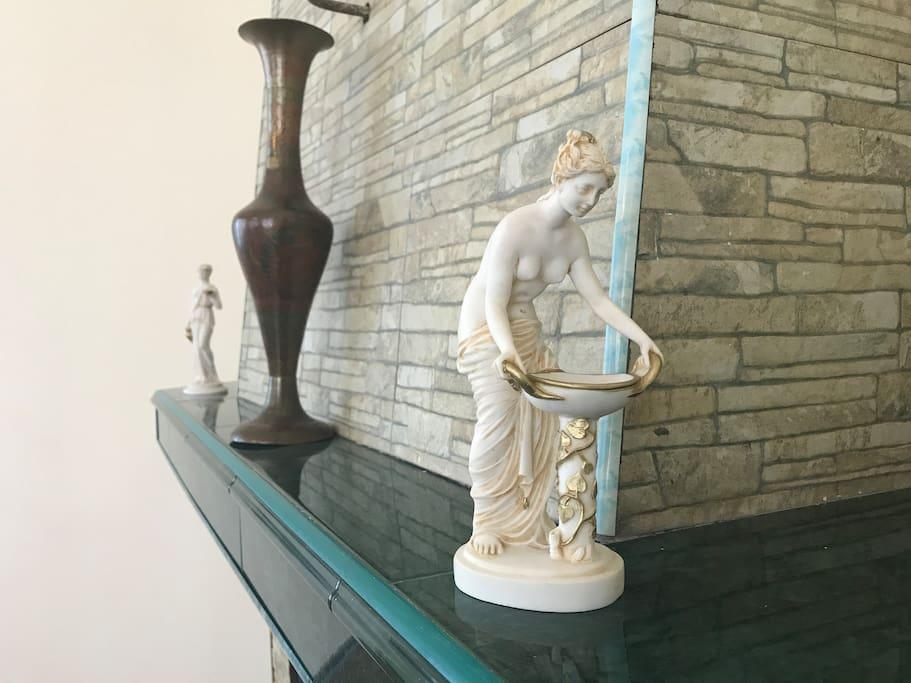 Antique Handmade Statue