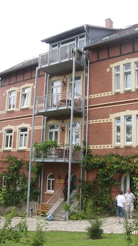 Double room on Adventure Island - Eberstedt - Hus