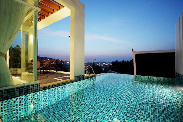 Kata Sea View Villa/Pool & Chef-A2