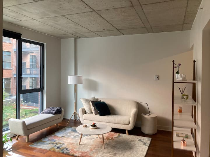 Modern and cozy loft in historical building