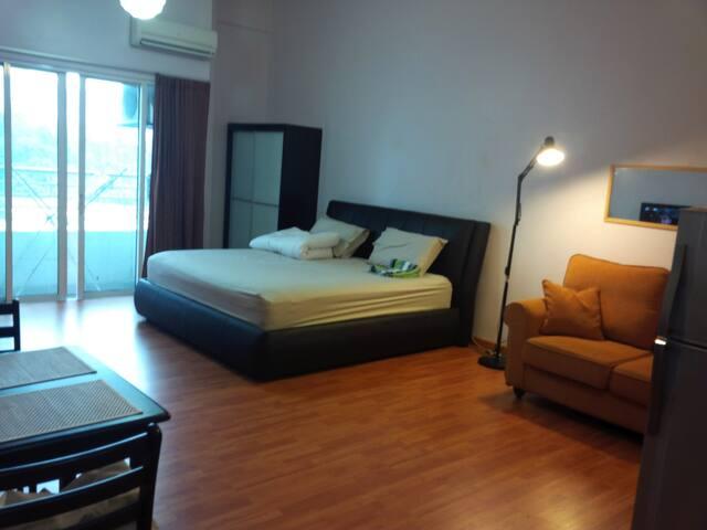 Kuala Lumpur City Studio with Wifi - Kuala Lumpur - Appartement