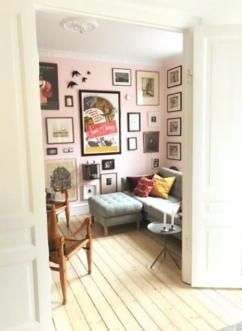 Beautiful 3-room apt in central Copenhagen