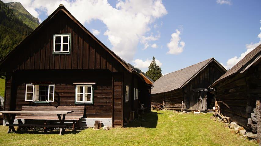 Almhütte - Hüttfeldalm - Sankt Nikolai im Sölktal