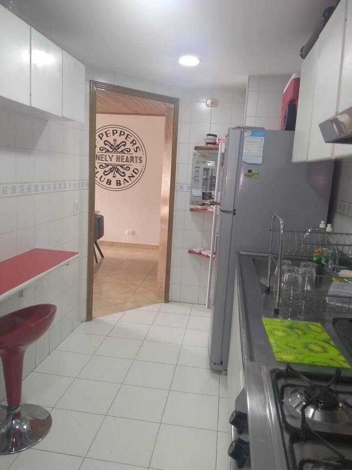 Apartamento completo a precio de habitación
