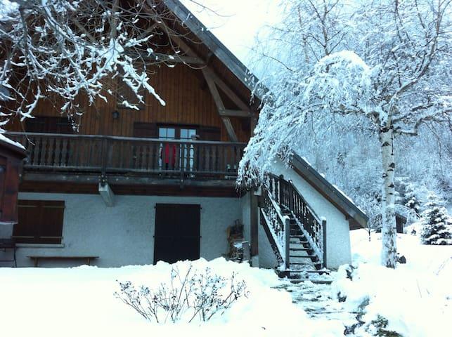 Chalet familial près des pistes - Alpes du grand serre - 公寓