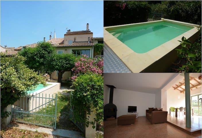 Maison de village with pool - Saint-Didier - House