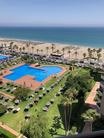 Beautiful Sea View Apartment in Playamar!