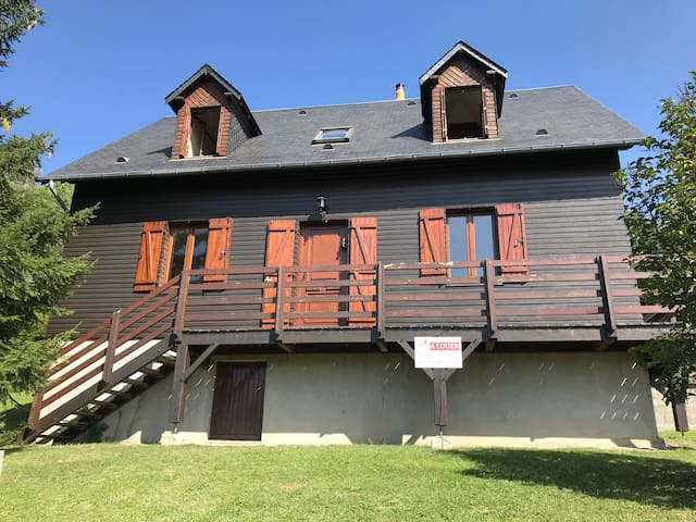 Chalet entier 14p, 5 chambres