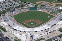 Hohokam Baseball stadium 15 minutes away