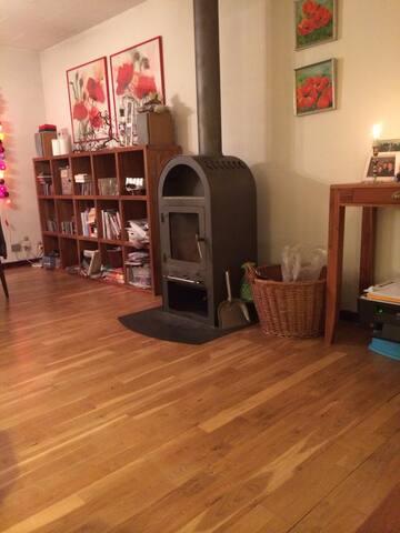 Stort lyst værelse i Hvalsø - Hvalso - Huis