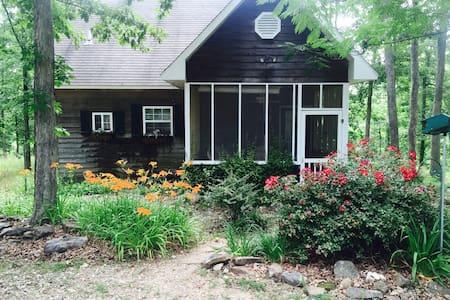 Merlyn's Cabin - Jasper - Blockhütte