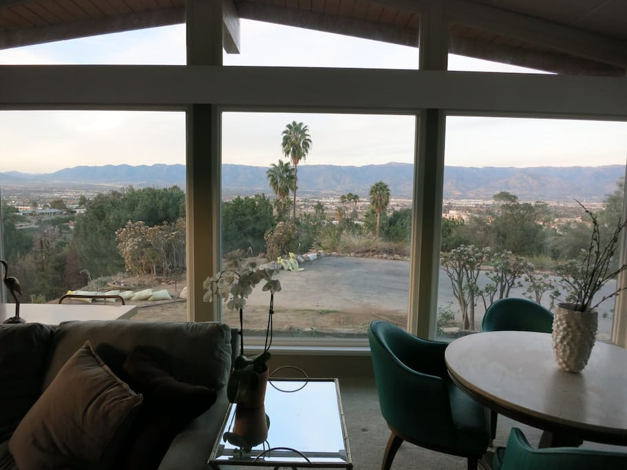 View of Loma Linda from the Living Room