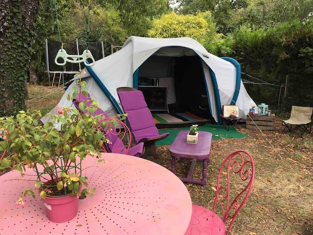Tente prête à camper/famille CHÂTEAUX DE LA LOIRE