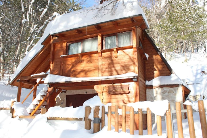 Rustical Chalet in Passo Lanciano - Passo Lanciano - Alpehytte