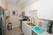 Kitchen features all newer stainless appliances, fridge has ice/water in the door, sink disposal, and quiet dishwasher.