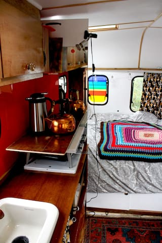 Vintage Caravan on the Wild Atlantic Way