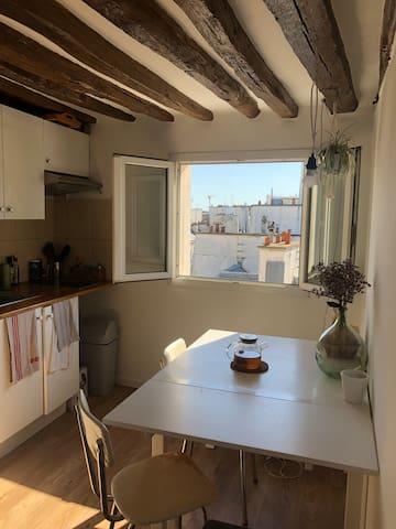 Appartement cosy en plein cœur du Sentier