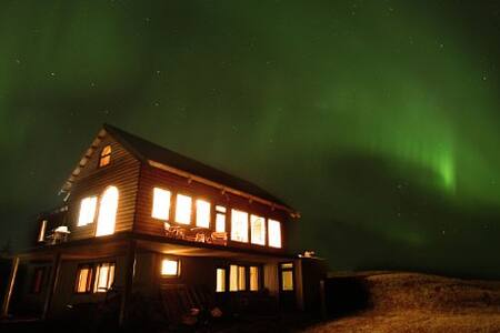 Guesthouse Björk, 4 people Loft - Kirkjubæjarklaustur