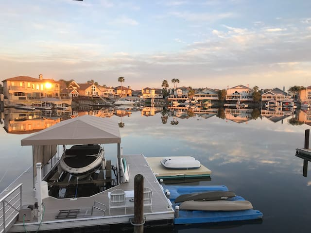 Spacious Waterfront Home on Delta, w/ Dock & Deck