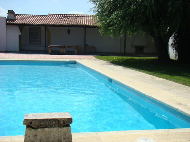 House with pool/6 bedrooms - Santarem - Hus