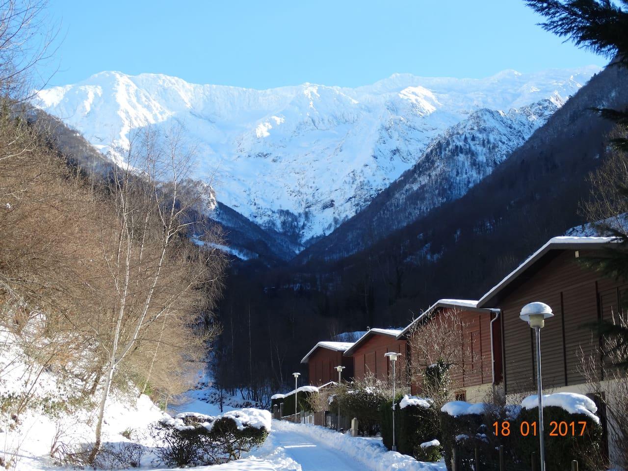 Chaletd village de Salau