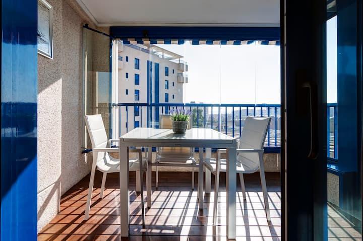 Brillante apartamento de playa en Valencia