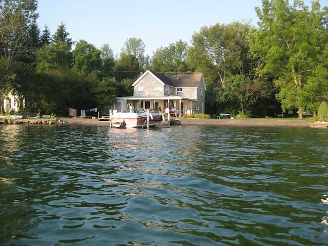 Slate Cove Cottage - Skaneateles - Kabin