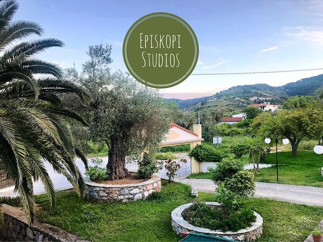 Episkopi Pension , Studio up to 4 guests, Skopelos