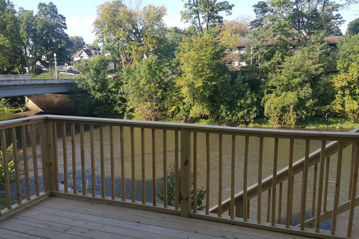 Deck View of the Sugar River