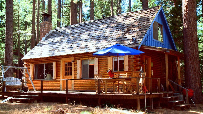 Lake tahoe log cabin beach access cabins for rent in Rent a cabin in lake tahoe ca