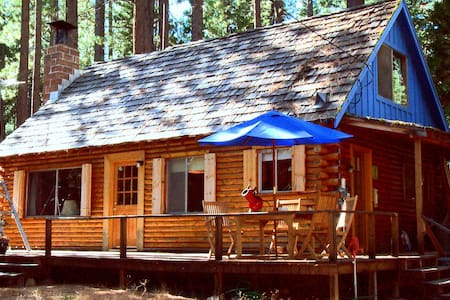 Lake Tahoe Log Cabin Beach Access - Kabin