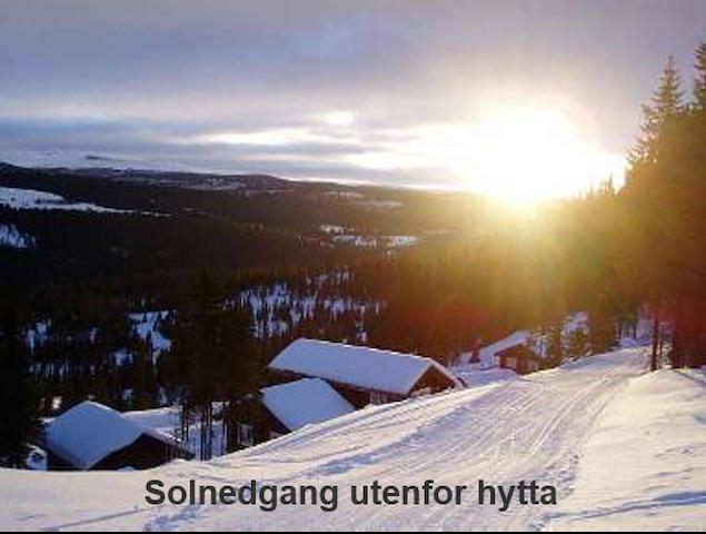 Sunny Westside Kvitfjell ski-in/out - Ringebu - Kabin