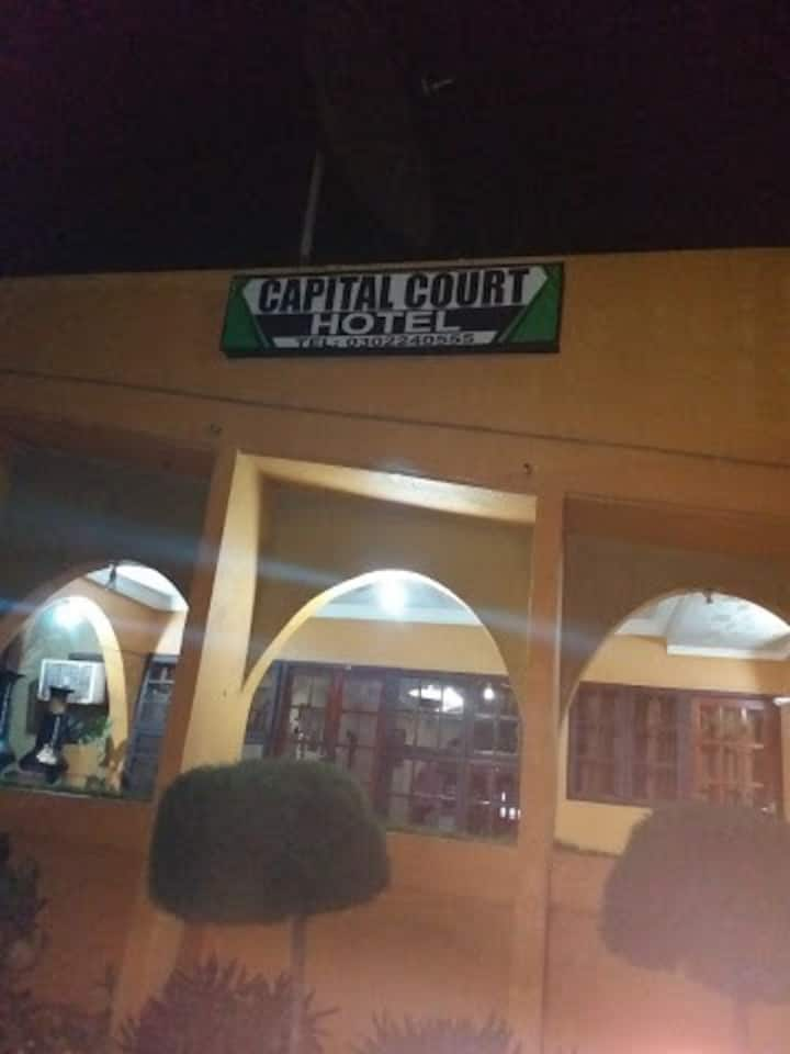 Capital Court Hotel. A place  of comfortability