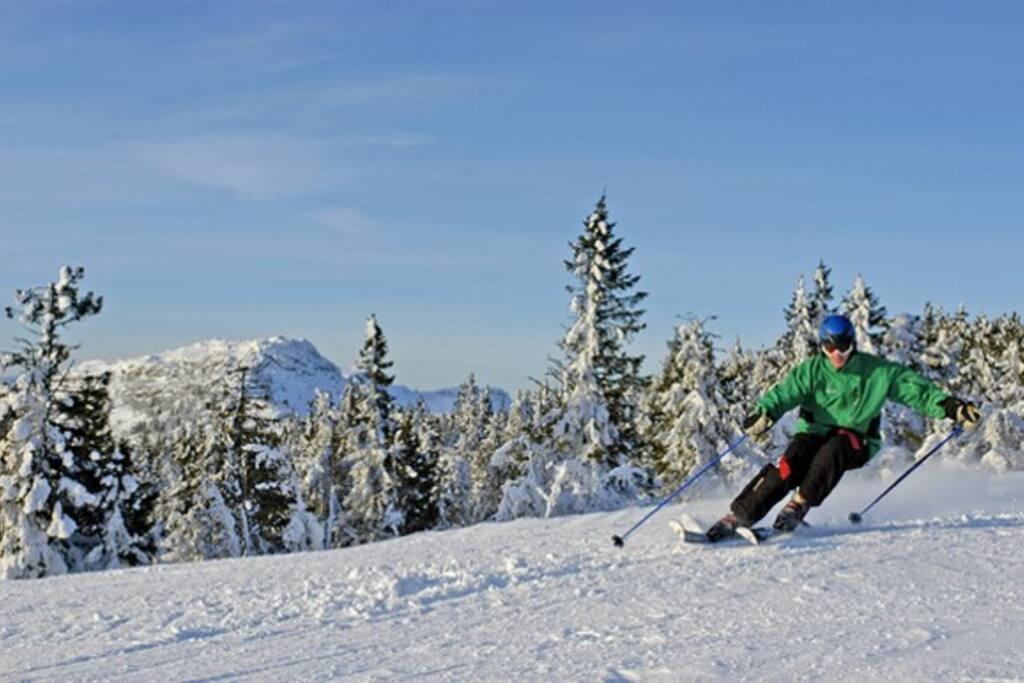 Kvitfjell - alpinbakker i særklasse