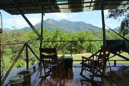 Mountain lodge with stunning views - Mastatal