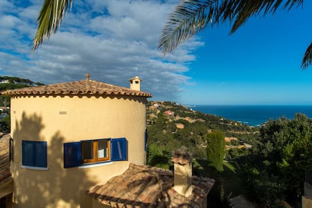 mediterranean villa with amazing sea views - Sa Riera