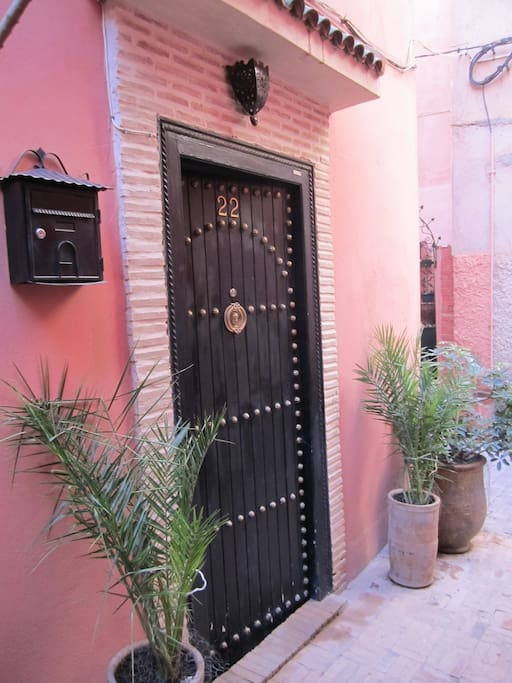 La porte du Riad