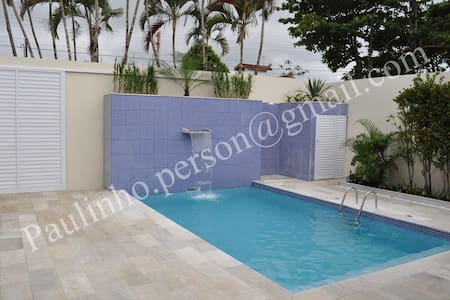 casa praia pernambuco 375 - 5 quartos