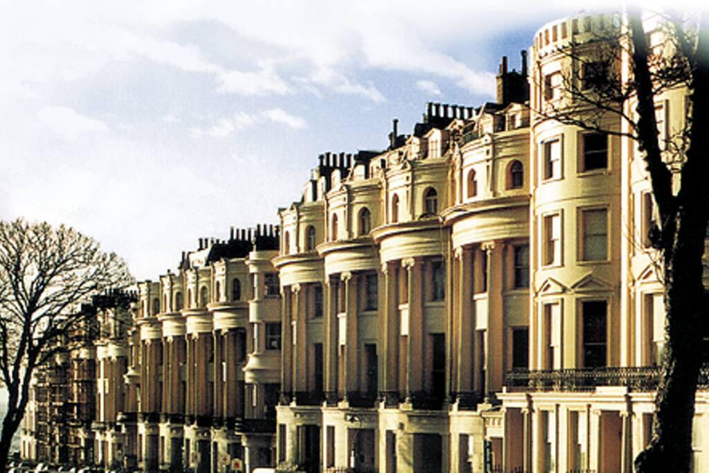 Grade I Listed Regency architecture