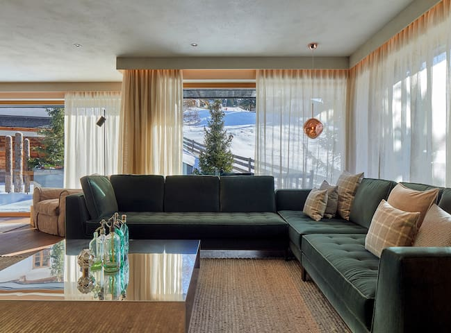 Chalet with marvellous access to the slopes