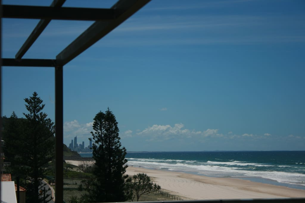View to Burleigh Heads and Surfers Paradise