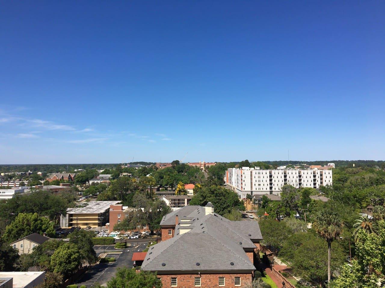 Best view of Wescott and FSU Campus