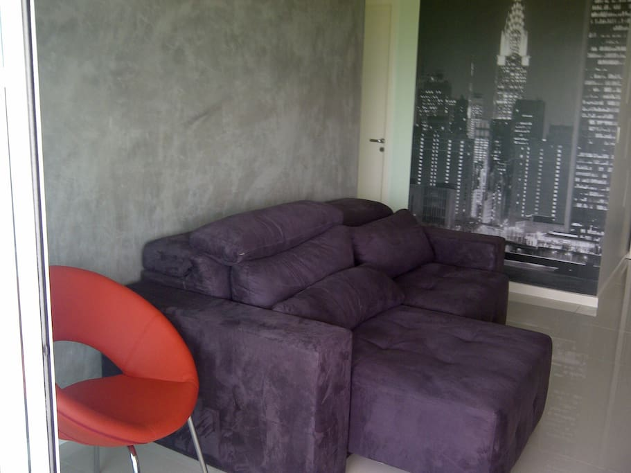 Nice couch for chilling out and watching movies