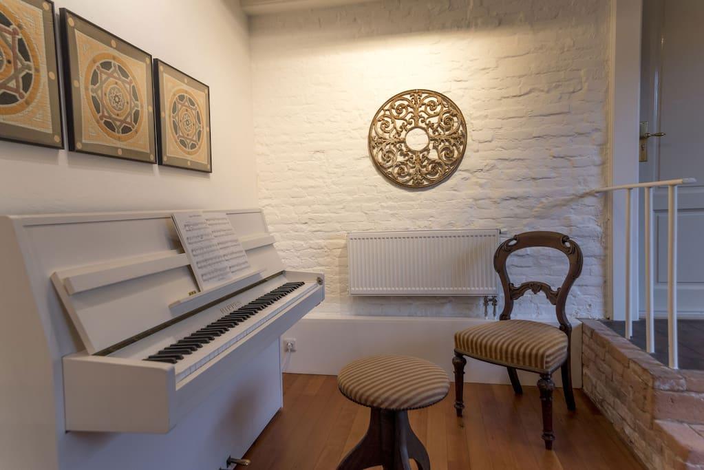 Apartment with loft and piano in building 1874 for Piani loft appartamento