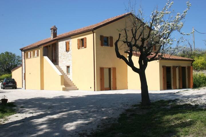 casa vacanza sul Conero sopra Portonovo