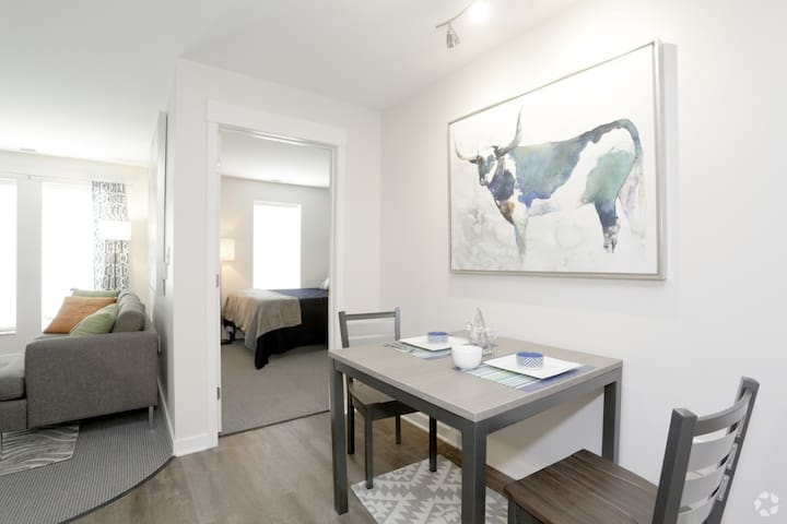Luxury 1b1b at great location at low price - Champaign - Apartamento