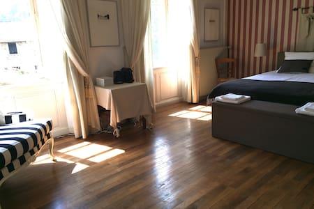 Chambre d'Amis - ruime lichte kamer, huis 14e eeuw - Dore-l'Église - Гестхаус